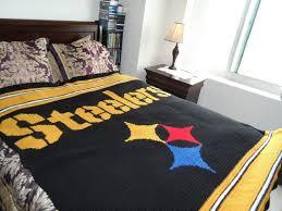 Steelers Bedroom Crochet Pattern For Making A Steelers Afghan Please Read