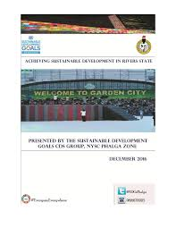 position paper on achieving sustainable development in rivers state