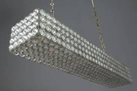 medium size of inch rectangular glass drop chandelier crystal small home depot bead