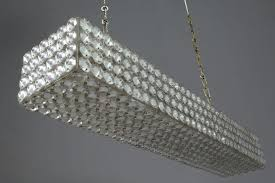 medium size of inch rectangular glass drop chandelier crystal small home depot bead rectangular glass chandelier