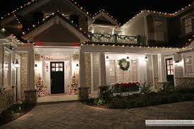 christmas exterior lighting ideas. Christmas Front Porch The Sunny Side Up Blog Red And White Exterior Lighting Ideas
