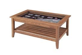 coffee table display case glass top coffee table design shadow box coffee table ideas