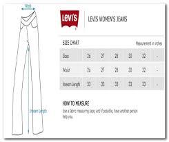 Women S Pants Inseam Size Chart Levi Jean Size Chart Women Bedowntowndaytona Com