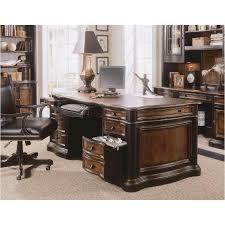 864 10 563 Hooker Furniture Executive Desk leather Top