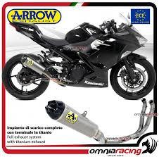arrow full exhaust system peion