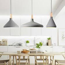 kitchen pendant light wood lamp bar
