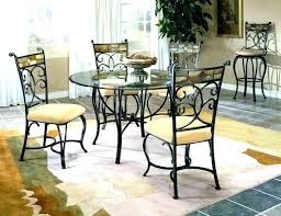 round glass dining table set for 4 round glass dining table and chairs argos westbrookdogcom glass