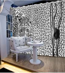 Leopard Print Bedroom Wallpaper Online Get Cheap Leopard Print Curtains Aliexpresscom Alibaba