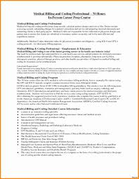 Medical Billing And Coding Resume Sample Medical Billing and Coding Resume Examples Coding Certification 48