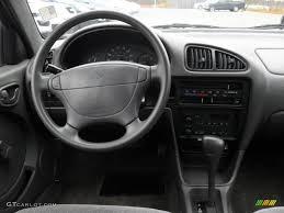 2001 Chevrolet Metro LSi Gray Dashboard Photo #40775447 | GTCarLot.com