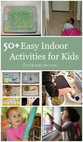 indoor activities for kids. 50+ Easy Indoor Activities For Kids