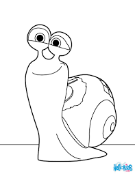 Small Picture Turbo the snail coloring pages Hellokidscom