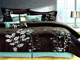 brown duvet cover queen teal and brown bedding teal brown bedding sets chocolate bedding sets bed blue green brown comforter teal and brown bedding