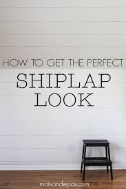 how to plank a wall excellent tutorial on getting that diy shiplap look