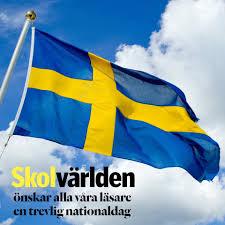 Sveriges nationaldag och svenska flaggans dag firas den 6 juni varje år och är en helgdag i sverige. Skolvarlden Glad Nationaldag Onskar Vi Pa Skolvarlden Facebook