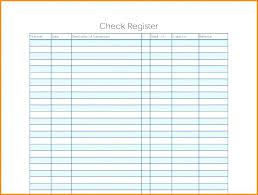 5 Large Check Ledger Template Printable Entries Blank Register Where
