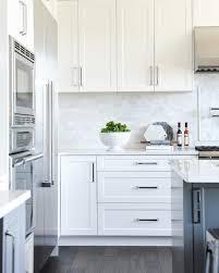 Pin By Claudia Watson On Backsplash Shaker Kitchen Cabinets White