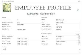 Free Employee Database Template In Excel Sales Database Template