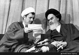 Afbeeldingsresultaat voor رفسنجانی خامنه ای و خمینی
