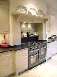 Kitchen Alcove Granite Shelf In False Chimney Alcove Higham Furniture