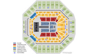 At7t Center Seating Chart Who Has Been At Any Concert At The At T Center I Have