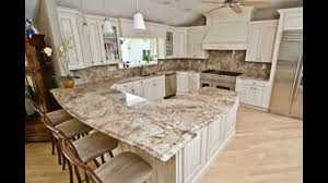 Typhoon Bordeaux Granite Kitchen Typhoon Bordeaux Granite With Full Granite Backsplash Youtube