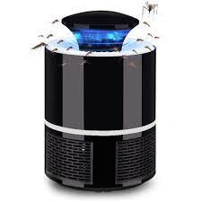 Usb Electric Mosquito Trap Lamp Black