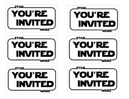 star wars birthday invite template star wars party invitations theruntime com