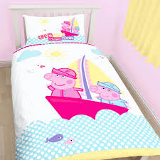 Peppa Pig Single Duvet Cover & Pillowcase Set - One Stop Furniture ... & Peppa Pig Single Duvet Cover & Pillowcase Set Adamdwight.com