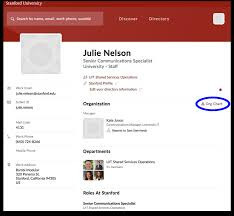 Stanford Uit Org Chart Organization Charts Now Available In Stanfordwho University It