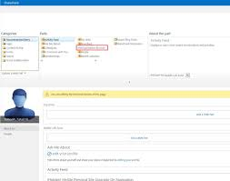 Sharepoint 2013 Organization Chart Web Part Sharepoint Pitstop Sharepoint2013 Mysite Organization
