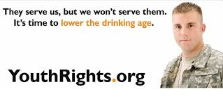should the drinking age be lowered to essay should the  drinking age or drinking age conflicts the military n d youthrights org web 7 oct 2014