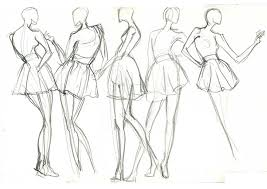Live Model Drawing 5mins Fashion Model Drawing Fashion