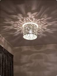 Moravian star flush mount ceiling light
