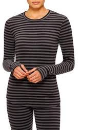Cuddl Duds Climateright By Womens Stretch Fleece Warm