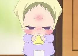 aw he's trying so hard!   Đang yêu, Anime, Phim hoạt hình