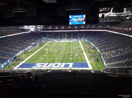 ford field seating chart with row numbers ford field section 319 detroit lions rateyourseats