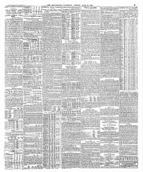 Pell Chart 1718 The Guardian From London Greater London England On June 14