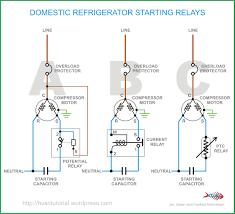 fridge compressor wiring diagram boulderrail org Fridge Thermostat Wiring Diagram domestic refrigerator starting relays best fridge compressor wiring haier mini fridge thermostat wiring diagram
