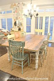 dining room distressed pine dining table and chairs room for wood set round inspiring with arms
