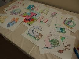 Small Picture The 25 best Alphabet Baby Showers ideas on Pinterest Baby