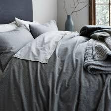 dark gray duvet cover
