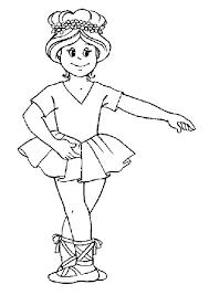 Small Picture Dessin colorier dune petite fille avec une couronne de fleurs