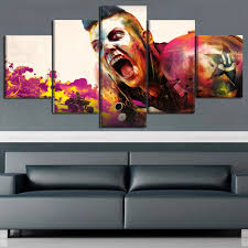 Rage Design Painting Us 5 98 48 Off 5 Panels Modular Custom Made Picture Home Decor Rage 2 Canvas Paintings On Canvas Wall Art For Home Decorations Wall Decor Room In