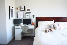 small office in bedroom. Small Office In Master Bedroom -- Father\u0027s Day With Framebridge- One Little Minute Blog M