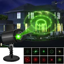 Green Laser Projector Light Christmas Laser Lights Outdoor Projector Lights Auto Timer Waterproof Red And Green Laser Light Energy Saving Creating A Twinkling Star World Show