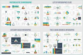 Arrow Powerpoint Template Free Download Awesome Business Infographic