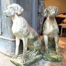 dog garden statues see this photo by o addicted to antiques garden statues garden and garden dog garden statues