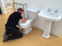 changing the toilet seat