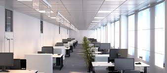 lighting in an office. reduce eye strain by making a few lighting adjustments around your desk in an office e